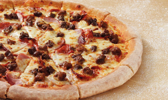 PJ All The Meats Pizza